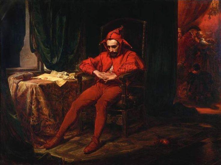"""Jan Matejko, """"Stańczyk"""", olej na płótnie,"""
