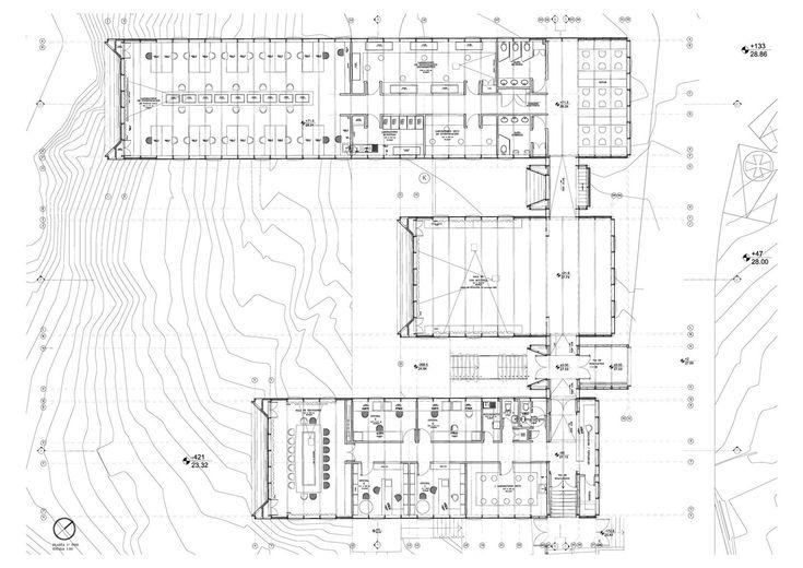 Galería de Estación Costera de Investigaciones Marinas (ECIM) ; Modulo Docente de Pregrado, Facultad de Ciencias Biológicas, Pontificia Universidad Católica de Chile / Martin Hurtado Arquitectos - 36