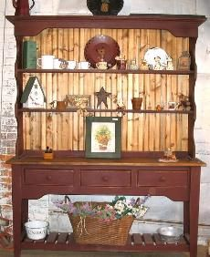 """I love to display the items in my home that are """"treasures"""""""