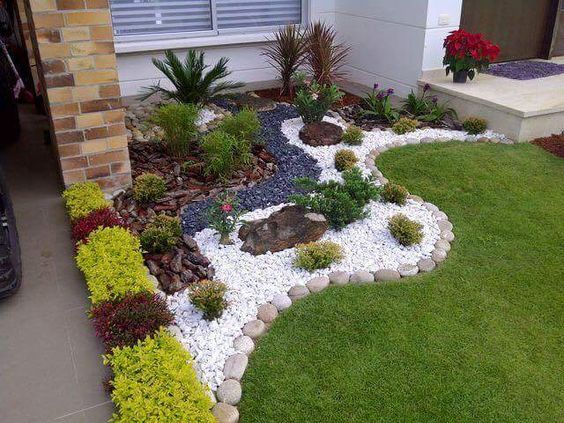 Backyard landscaping