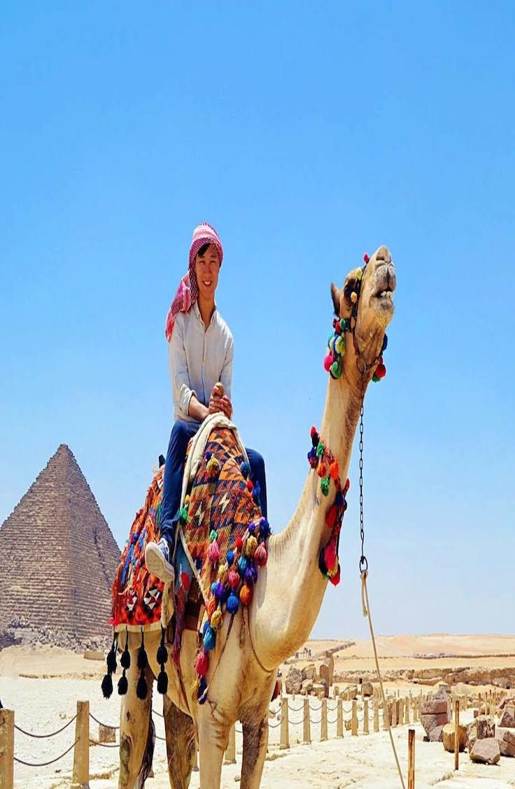 Explore the Pyramids of Giza