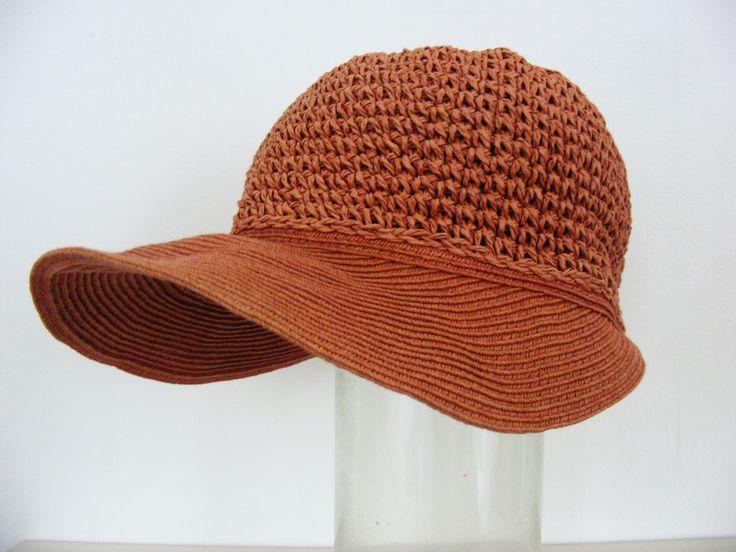 1960s summer hat