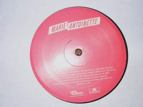 Marie Antoinette Soundtrack | Ms. Coppola always has the best soundtracks.