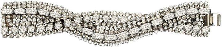 Tom Binns crystal twist bracelet on shopstyle.com
