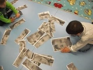 Little People Learn: Playing with Photos... Great activity for the beginning of the year!