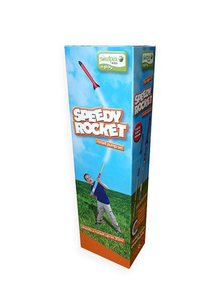 Speedy Rocket $15.95 from Pumpkin Patch #MacquarieCentre #Christmas #fungift