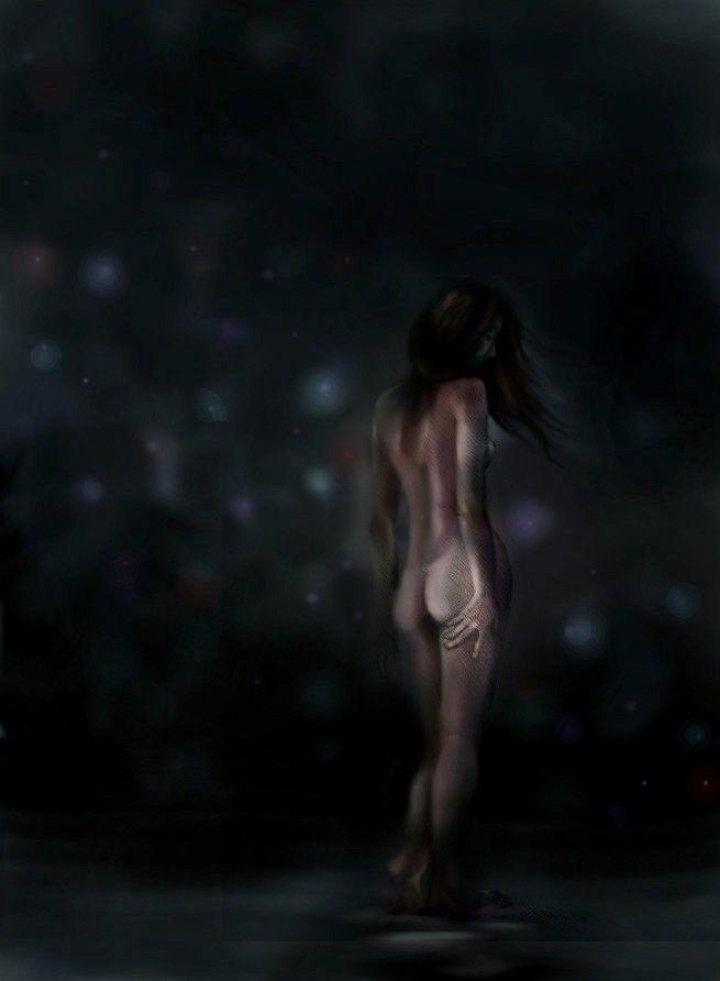 Night Incarnate, Casey Richards, December 2014, Digital Drawing