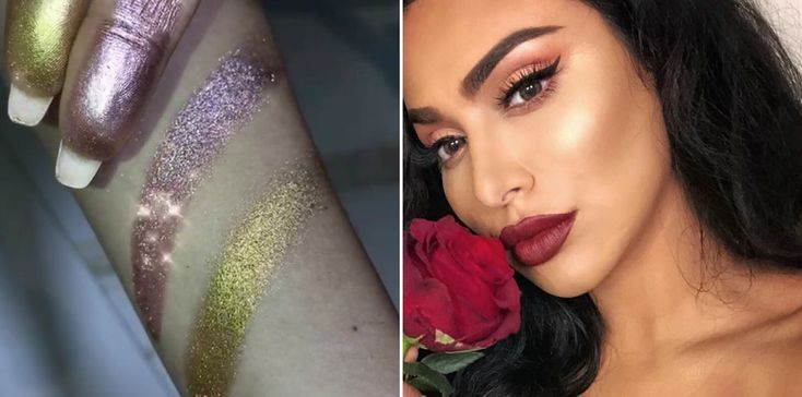 Huda Kattan Teased a SUPER Shimmery New Pigment and Fans Are Freaking Out