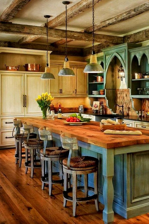Awesome Rustic Style Lighting Projects To Complete The Kitchen In