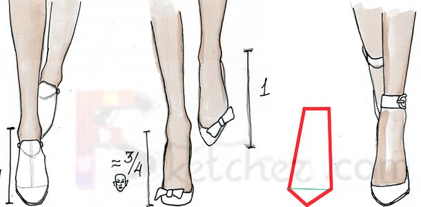how to draw boots front view - photo #38