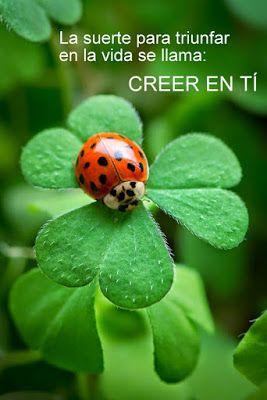 Frases Bonitas Para Facebook: Cree En Tí | Imagnes Con Mensajes