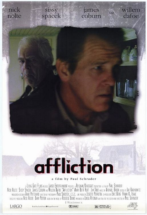 an analysis of the movie affliction Unlike most editing & proofreading services, we edit for everything: grammar, spelling, punctuation, idea flow, sentence structure, & more get started now.