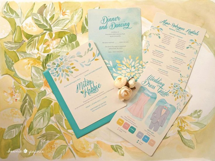 Wedding invitation handmade by Bonnie Paperie  http://bonniepaperie.com/
