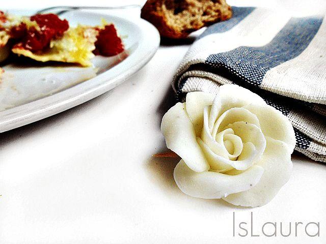 fiore di pasta di mais