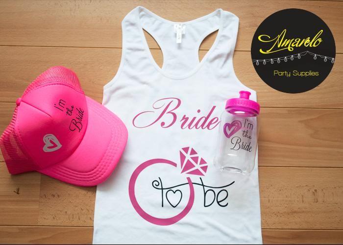 Conoce más de nuestros kits para #bacheloretteparty en: http://bitly.com/1vnCFWS #boda #bride #bachelorette #weddingideas Búscanos también en nuestra fanpage: www.facebook.com/amarelo.partystudio