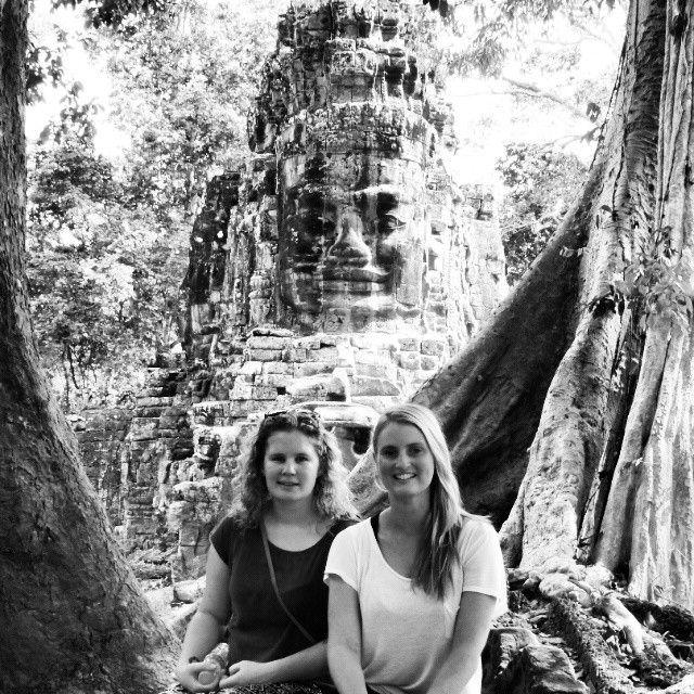 Victory Gate at Angkor Thom, Siem Reap