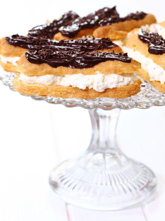 Eklerki #słodkości #smakołyk #deser #przepisy #energia #eklerki #czekolada #POLOmarket