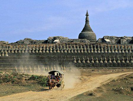 Mrauk U , Myanmar,Burma