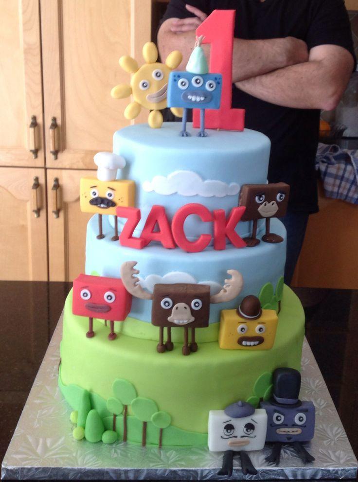 BEST Big Block Sing song birthday cake I've seen so far.
