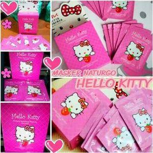 Masker Lumpur Hello Kitty (Masker Wajah Hello Kitty)