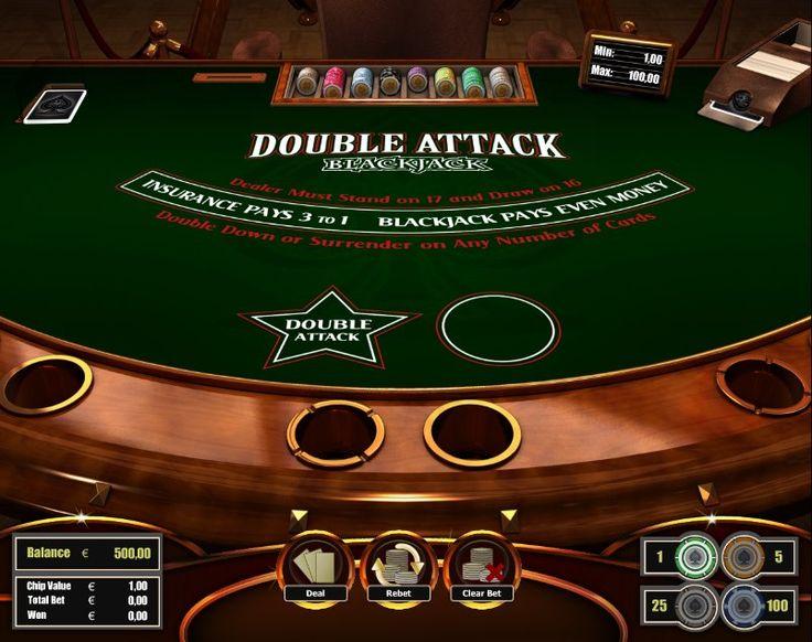 Double Attack Blackjack! For more games, register on http://casino-goldenglory.com/