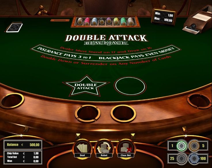 Double Attack Blackjack! For more games, register on http://casino-goldenglory.com/
