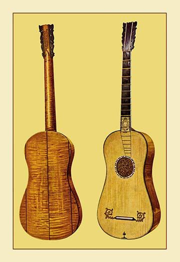 Guitar by Antonius Stradivarius
