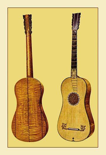 Guitar by Antonius Stradivarius