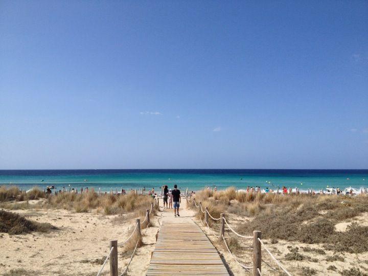 Platja de Son Bou in Alayor, Islas Baleares