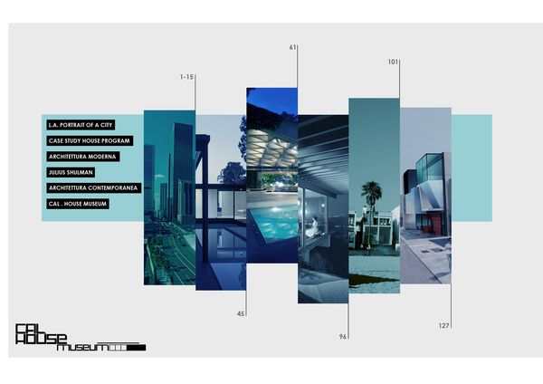 Layout of Architecture Thesis Editing Project by Arrigo Strina, via Behance