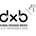 Semana de Diseño en Dubai Establecida en 2015 en asociación con Dubai Design District (d3), Dubai Design Week