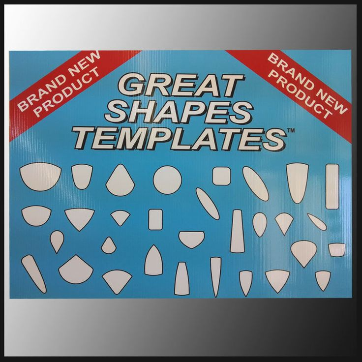 Great Shapes Template Complete Set | The Gem Shop, Inc.