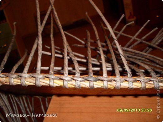 Мастер-класс Плетение МК загибки донышка Бумага газетная Картон Трубочки бумажные фото 7