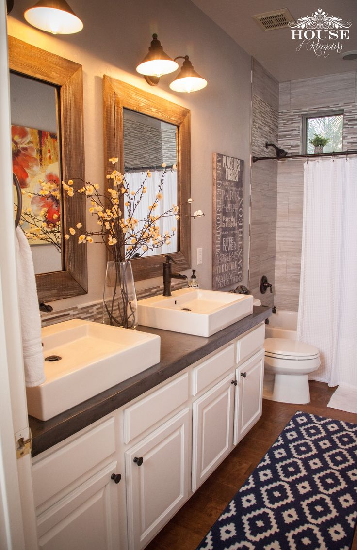 So now that you've seen the shower area completely done, To see that Post . . . CLICK HERE It's time to show you rest of the bathroom Reno! All of it !!! The Good, The Bad . . . The UGL…