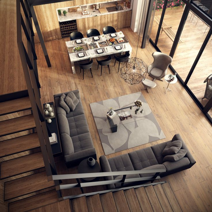 Le Loft created by ssbeih using 3Ds Max and VRay.
