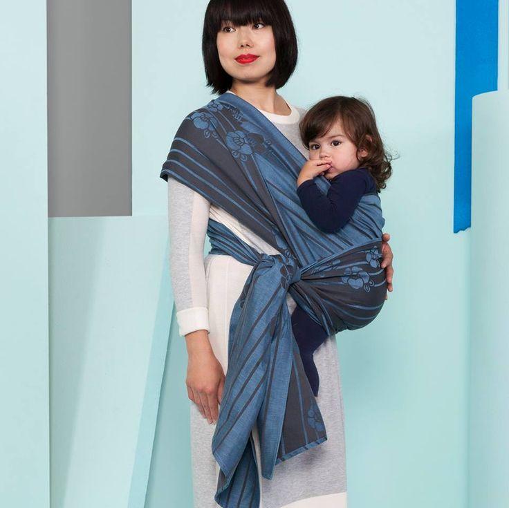 KOKORO COCO TWILIGHT BLUE Wrap (linen)