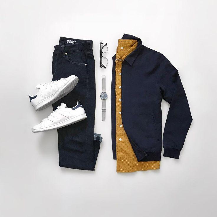 Colourful mens shirt fashion flat lay.