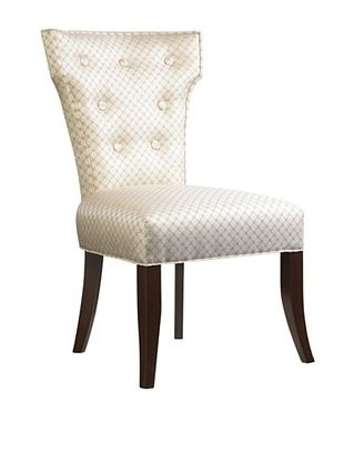 French Heritage Alma Dining Side Chair, Antique Cherry