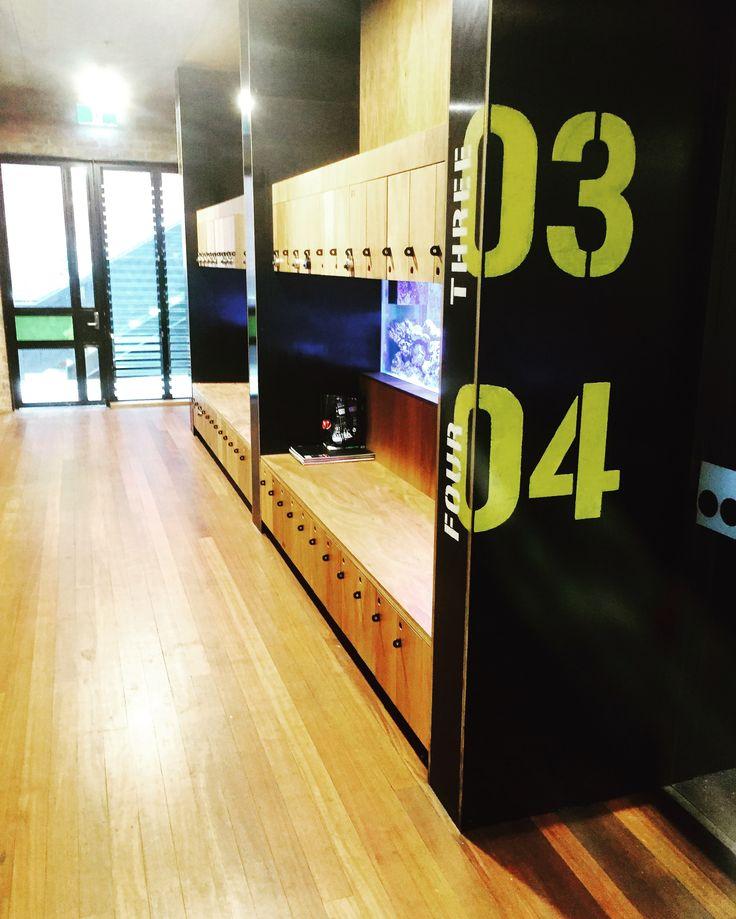 Albert Park School by Six Degrees Architects - lockers