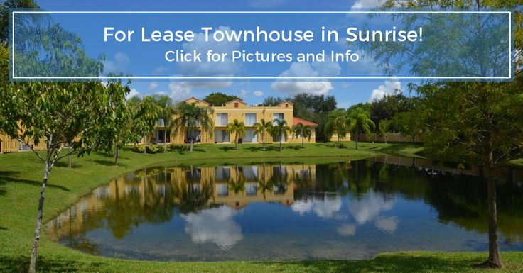 Beautifully renovated townhouse for rent in Sunrise. 2 Bedrooms, 1.5 baths $1425/month.