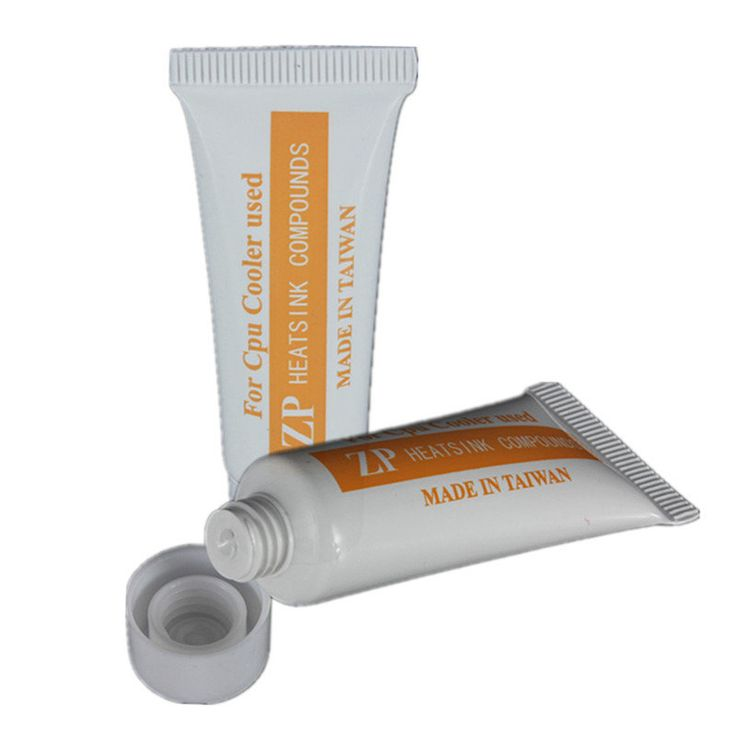 Thermal Grease Paste Compound For CPU Heatsink Paste Cooler White Tube