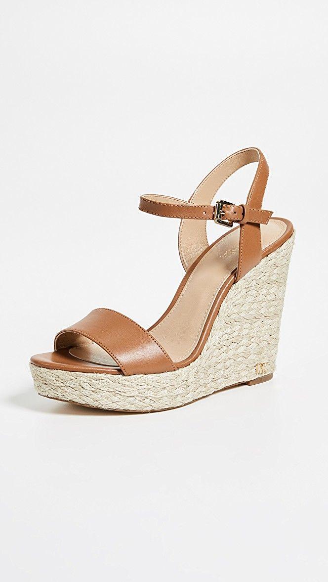 ce6c830aaf6 Jill Espadrille Wedges in 2019   Shoes   Handbags michael kors ...