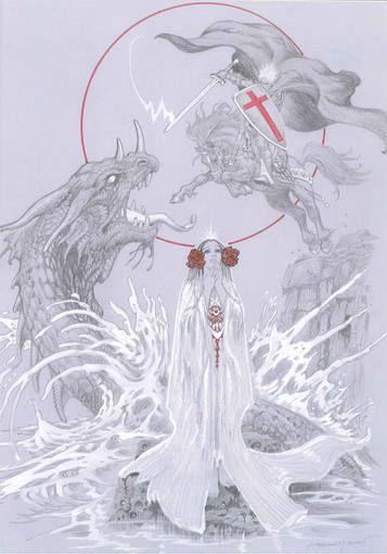 Ilustraciones de  Esteban Maroto para Las Leyendas... | Zona Negativa