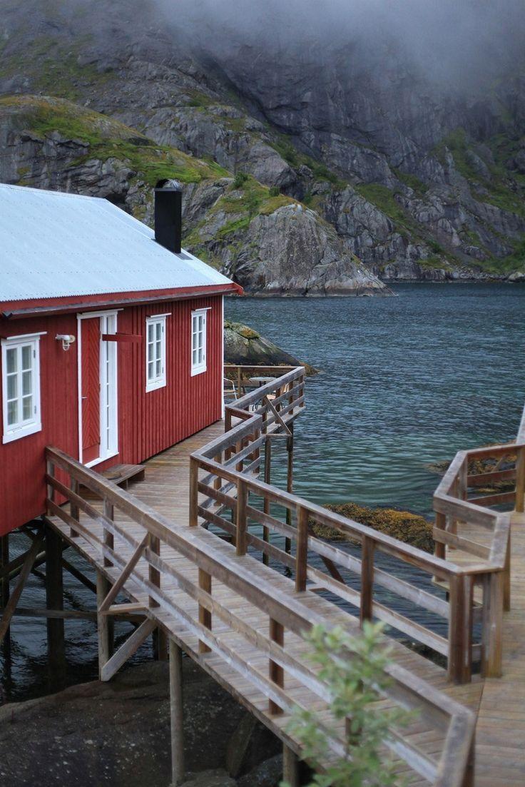 bluepueblo:  Seaside, Lofoten Islands, Norway photo via jennifer
