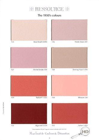 51 best ressource peinture images on Pinterest Color palettes
