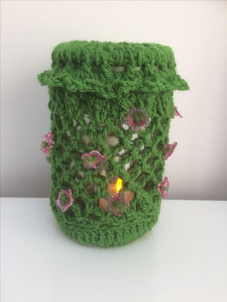 'Alpine' crochet latern