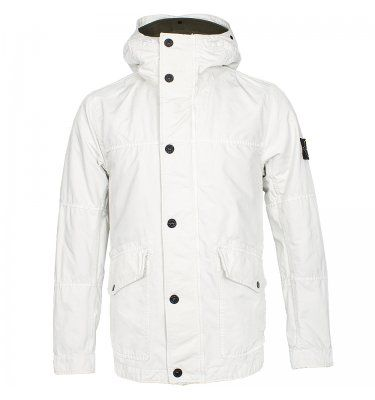 Stone Island David TC Jacket Off White