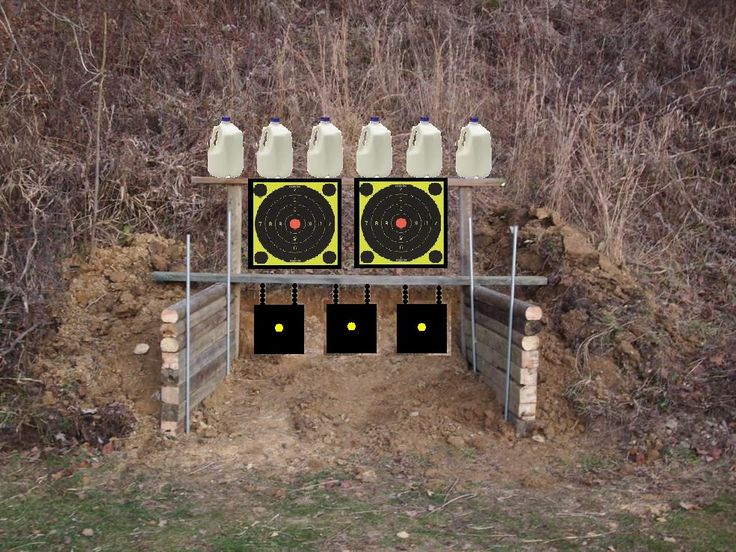 diy shooting range something like this but bigger ideas for family