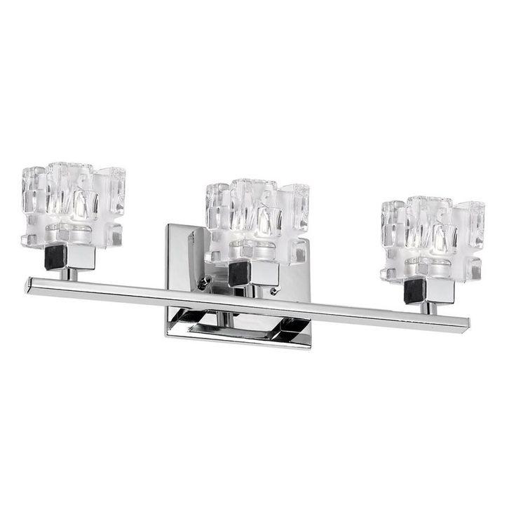 Lowe's Canada Bathroom Vanity Lighting 7 best avista lighting images on pinterest | polished chrome