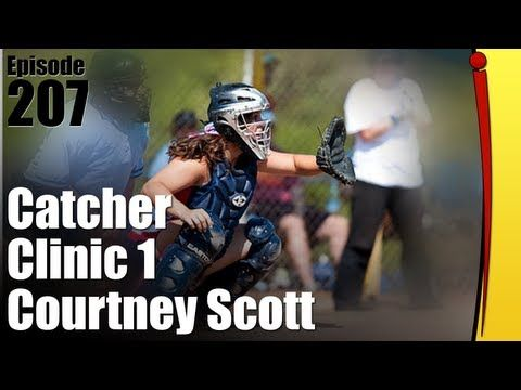 Fastpitch Softball Catchers Clinic - Courtney Scott